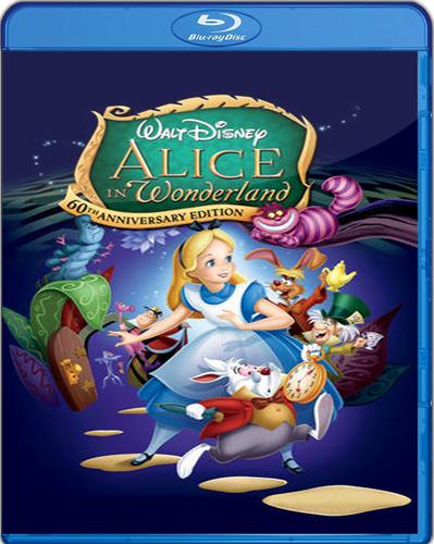 Alice in Wonderland [60th Anniversary Edition] [1951] [BD25] [Latino]