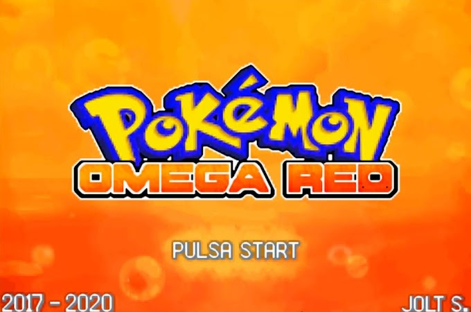 Pokémon Omega Red 4.0 (GBA)