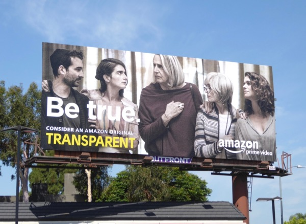 Transparent 2017 Emmy Be True billboard
