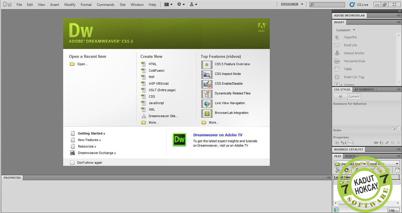 Download Adobe Dream Weaver CS5 Full Version