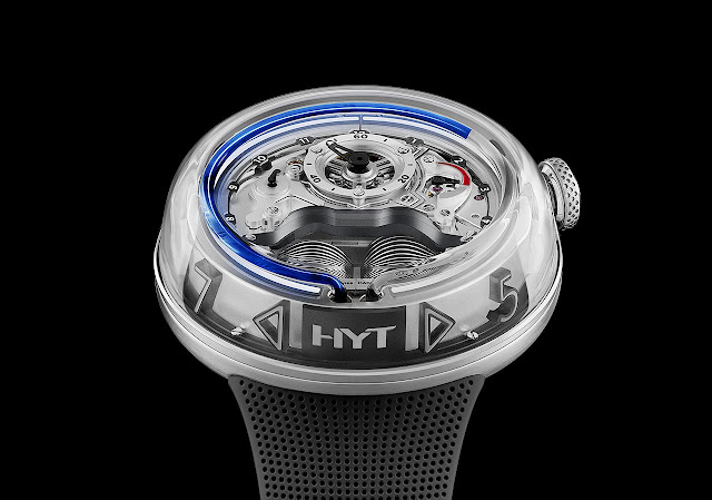 HYT Watches H5 Blue Fluid