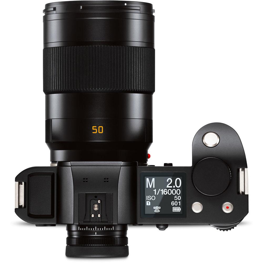 Объектив Leica APO-Summicron-SL 50mm f/2 Asph. с камерой Leica SL