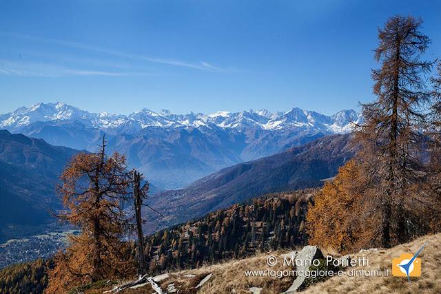 Colori autunnali in valle Vigezzo