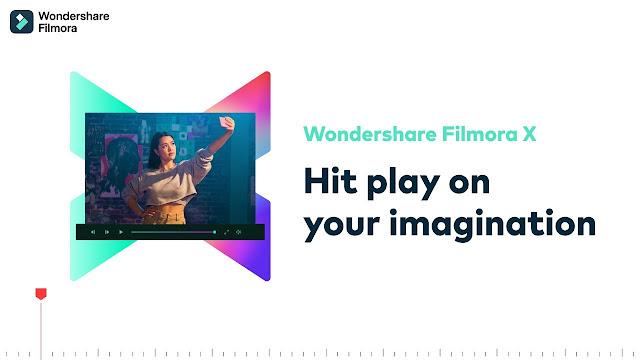 Wondershare Filmora X تحميل مجانا مع جميع الثأتيرا