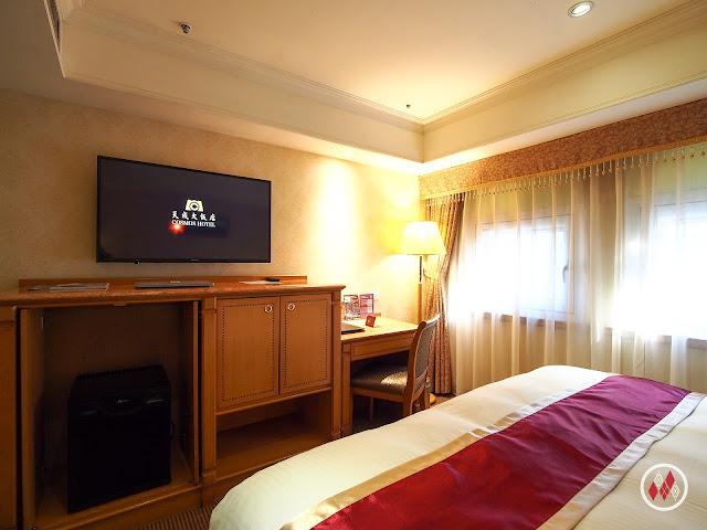 台北車站旁,重視細節的 天成大飯店 - Cosmos Hotel Taipei