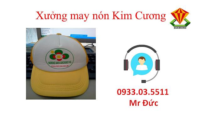 May nón lưỡi trai, nón du lịch số lượng lớn tại Đồng Nai