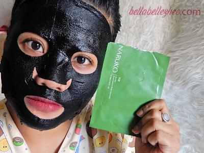 naruko indonesia Tea Tree Shine Control & Blemish Clear mask