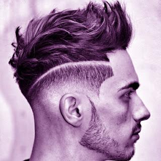 Model potongan rambut low fade