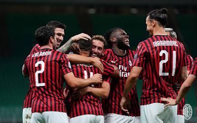 ملخص واهداف مباراة ميلان وكالياري (3-0) الدوري الايطالي