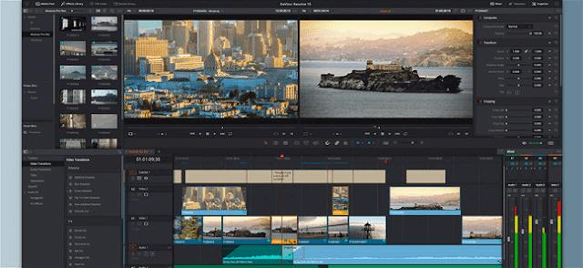 Davinci Resolve - Aplikasi Edit Video Offline Gratis Untuk PC