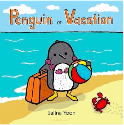 Freebies for the mentor text Penguin on Vacation by Salina Yoon.  Comparing/contrasting, theme, and describing/retelling events.  Perfect summer book for preK through first.