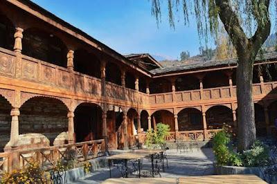 Naggar Castle inside