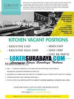 Open Recruitmen at Ismaya Creating The Good Life Surabaya Nopember 2019