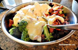 salad, broccoli, side dishes, recipes