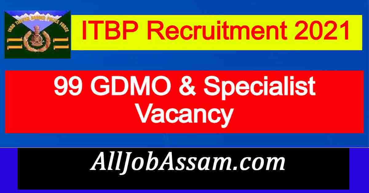 ITBP Recruitment 2021