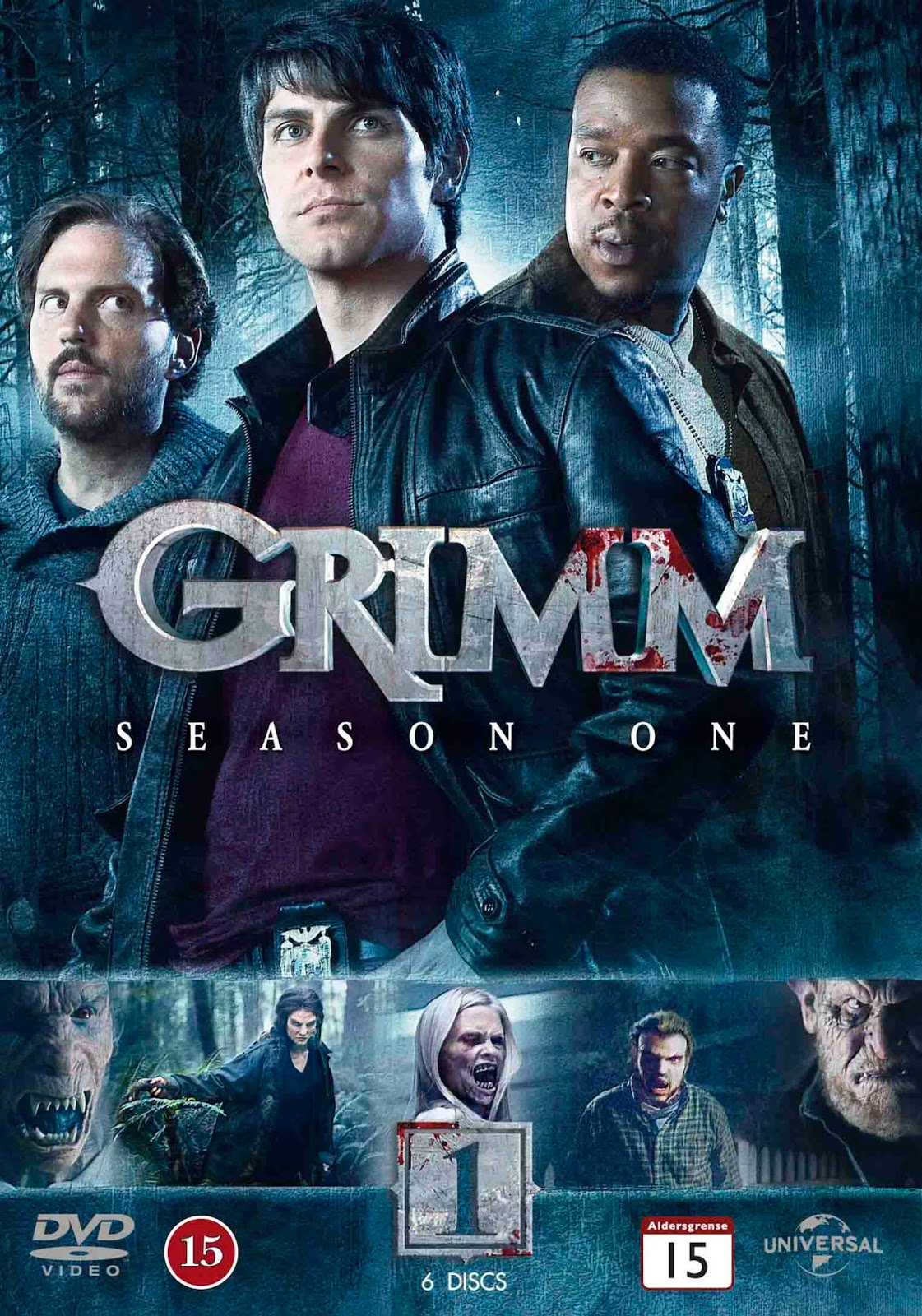 Grimm 1ª Temporada Torrent - BluRay 720p Dual Áudio