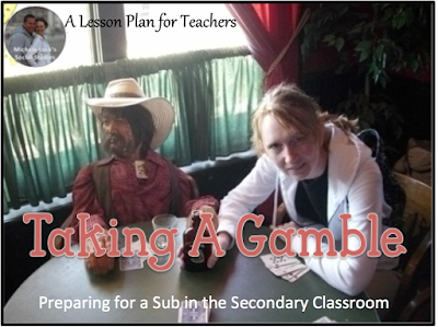 Tips and suggestions on preparing for a substitute in the secondary classroom