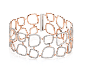Monica Vinader Riva Diamond Cluster Bracelet  - Jewellery Blog