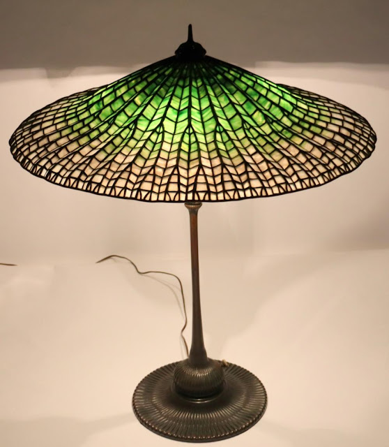 Important Tiffany Lamps, Fine Art, and More at Clarke Auction