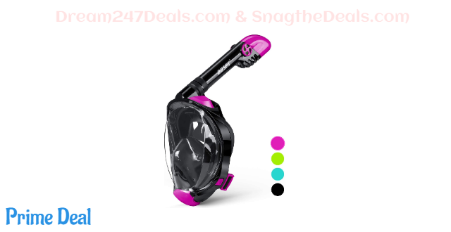 50% off Full Face Snorkel Mask