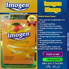 Imogen Mango Asli Rasa Mangga - Minuman Sehat Untuk Kewanitaan