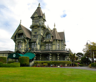 Victorian Carson House - Eureka, California, USA