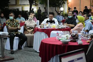 Bahas Berbagai Isu Aktual, Forkopimda NTB Gelar Rapat Evaluasi di Kediaman Kapolda