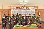 Kajari Tebo Ikut Upacara HUT TNI ke-76 Tahun 2021 Secara Virtual