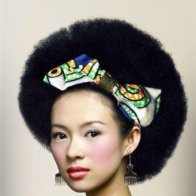 Afro asian women