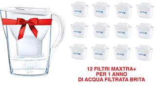 Set Promozionale - Caraffa Filtrante Marella con 12 filtri