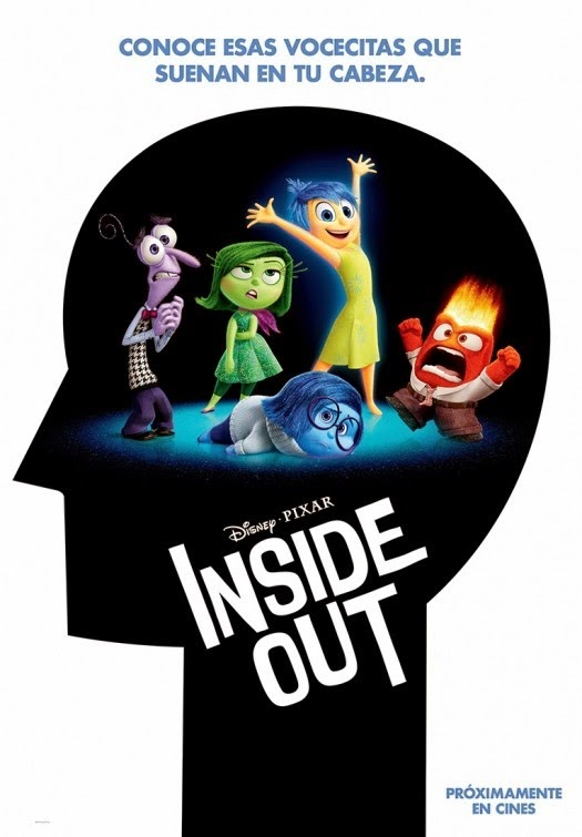 Disney Pixar Inside Out movie