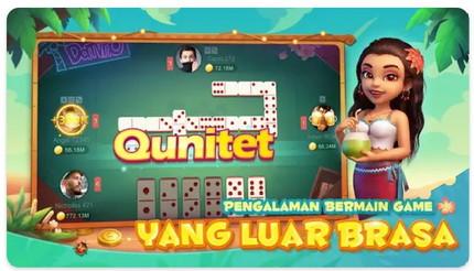 game gaple qiuqiu  domino  penghasil Pulsa  dan uang Apk Terbaru