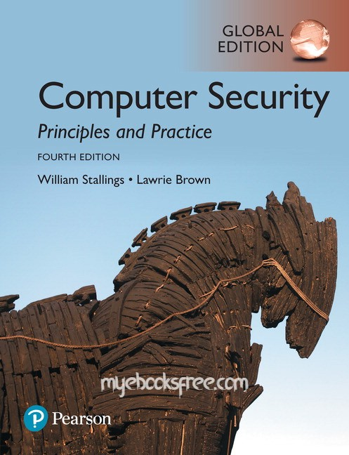 Computer Security Pdf Book 4e by Stallings, Brown (Global Edition)