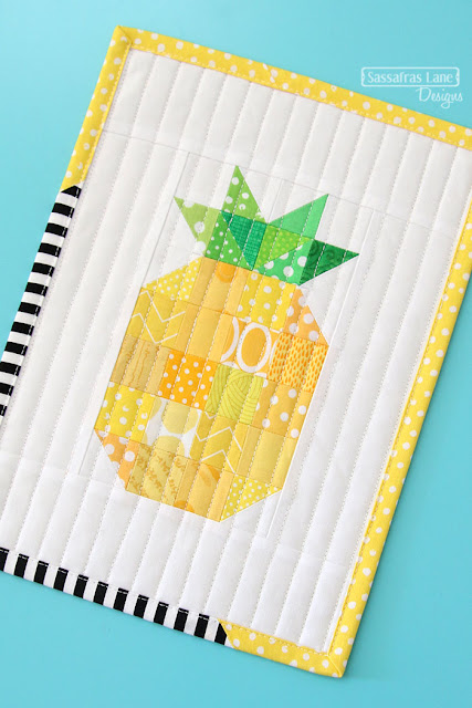 Mini Patchwork Pineapple