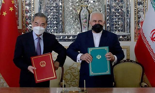 China e Irán firmaron un acuerdo global