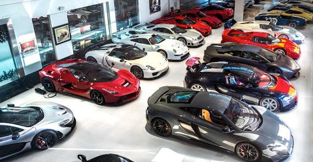 億単位のクルマが30台以上!?バーレーンのコレクターのスーパーカーガレージがスゴすぎる!