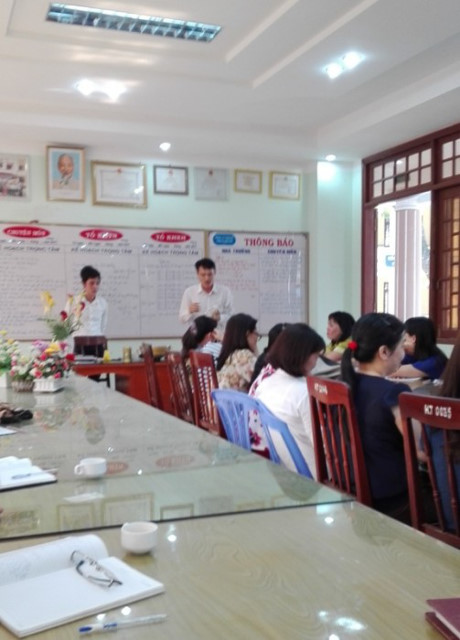 Chuyện lạ ở Quảng Ngãi Giờ họp Trường học thành Chợ