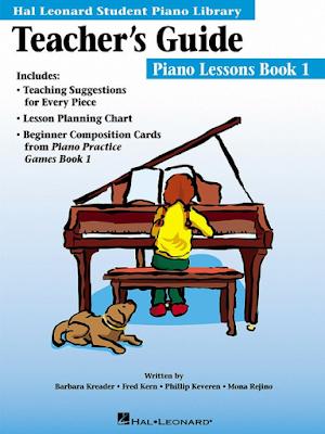 Teacher's Guide - Piano Lessons Book 1 | دليلالمعلم - كتاب دروس البيانو