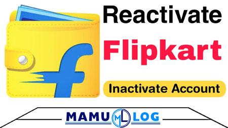 Flipkart Account Activate kaise kare