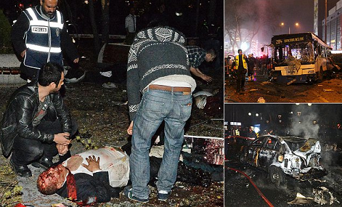 At Least 34 Dead, 125 Wounded In Car Bombing In Turkish Capital Last Night