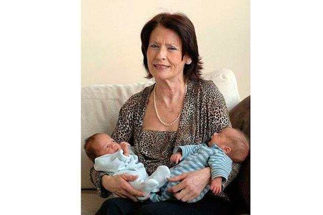 Самая старая мама в мире через 3 года после родов оставила сыновей сиротами