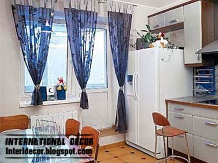 Contemporary Kitchen Curtain Ideas 2014 Bright Styles Colors International Decoration