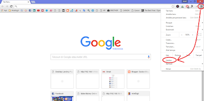 """integrasi idm dengan google chrome"""