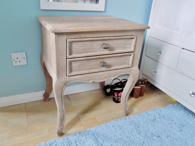 french style wooden bedside table