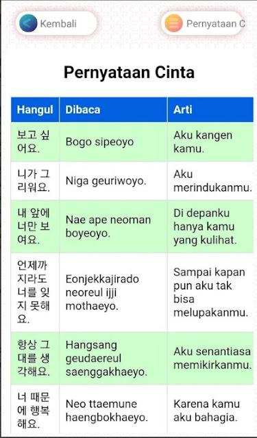 Bahasa Korea Kangen : bahasa, korea, kangen, Aplikasi, Belajar, Bahasa, Korea, Untuk, Pemula, Android, Kompirasi