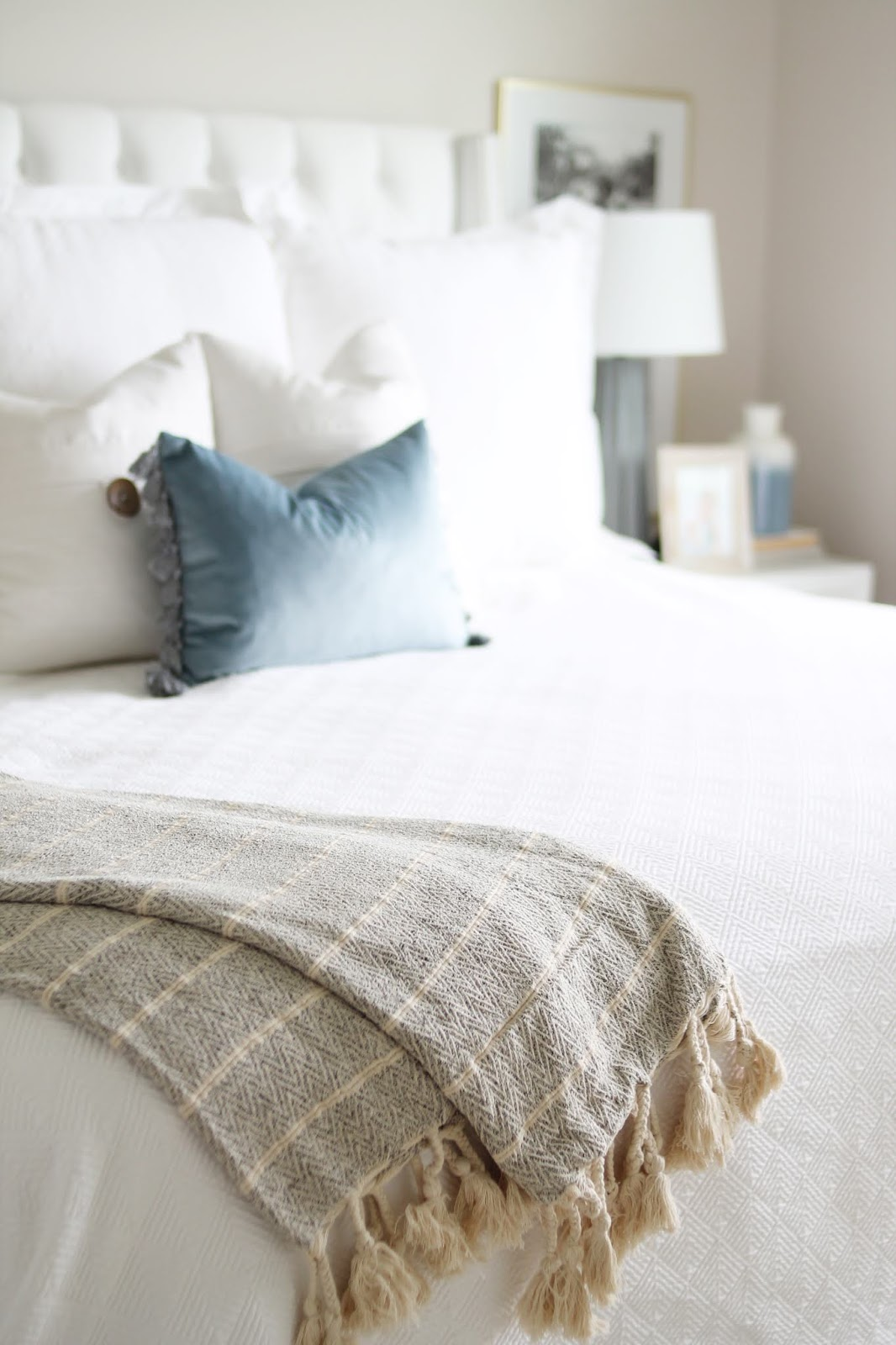 12th And White California Spa Inspired Bedroom Refresh Three Tips For Making Your Bedroom Feel Like A Spa