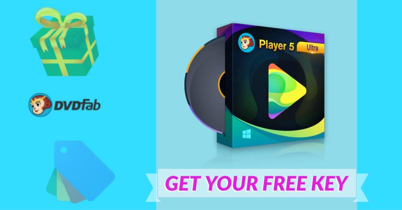 Giveaway: DVDFab Player 5 - Free Year License Key