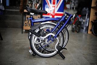 Sepeda Brompton Ingrgris