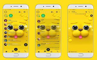 Cute Dog Theme For YOWhatsApp & Fouad WhatsApp By Leidiane