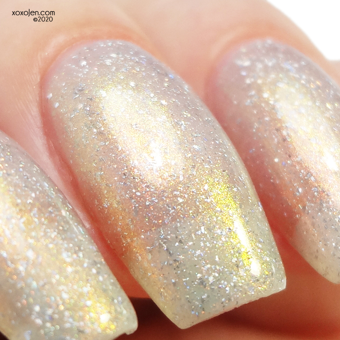 xoxoJen's swatch of Ethereal Frosted Bauble